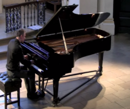 Ausschnitte aus meinem Piano recital, St. Martin-in-the-Fields, London