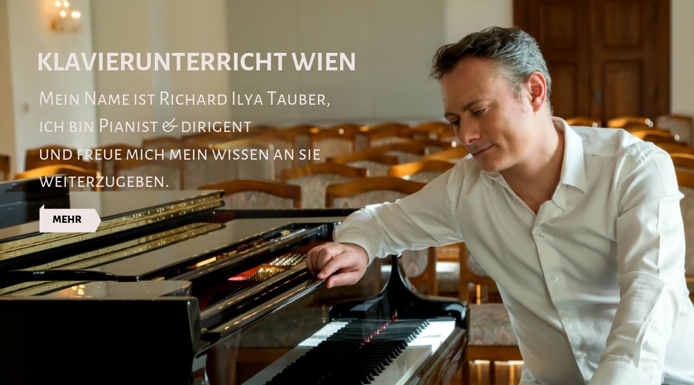 Klavierunterricht Richard Ilya Tauber