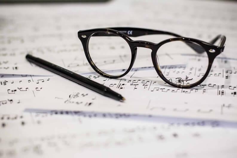 Unterricht Musiktheorie Gehörbildung Aufnahmeprüfung