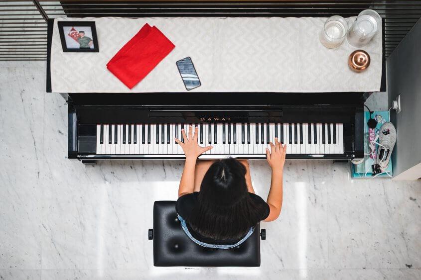 Wie übe ich richtig Klaver