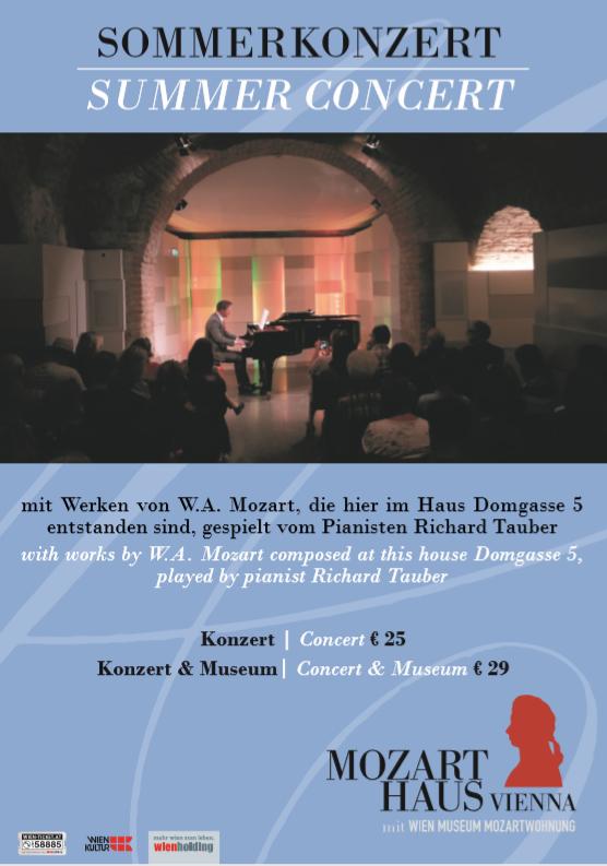 Mozarthaus Wien Sommerkonzerte 2019