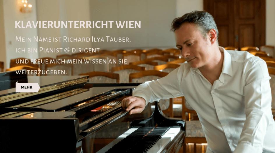 Klavierunterricht Wien Header
